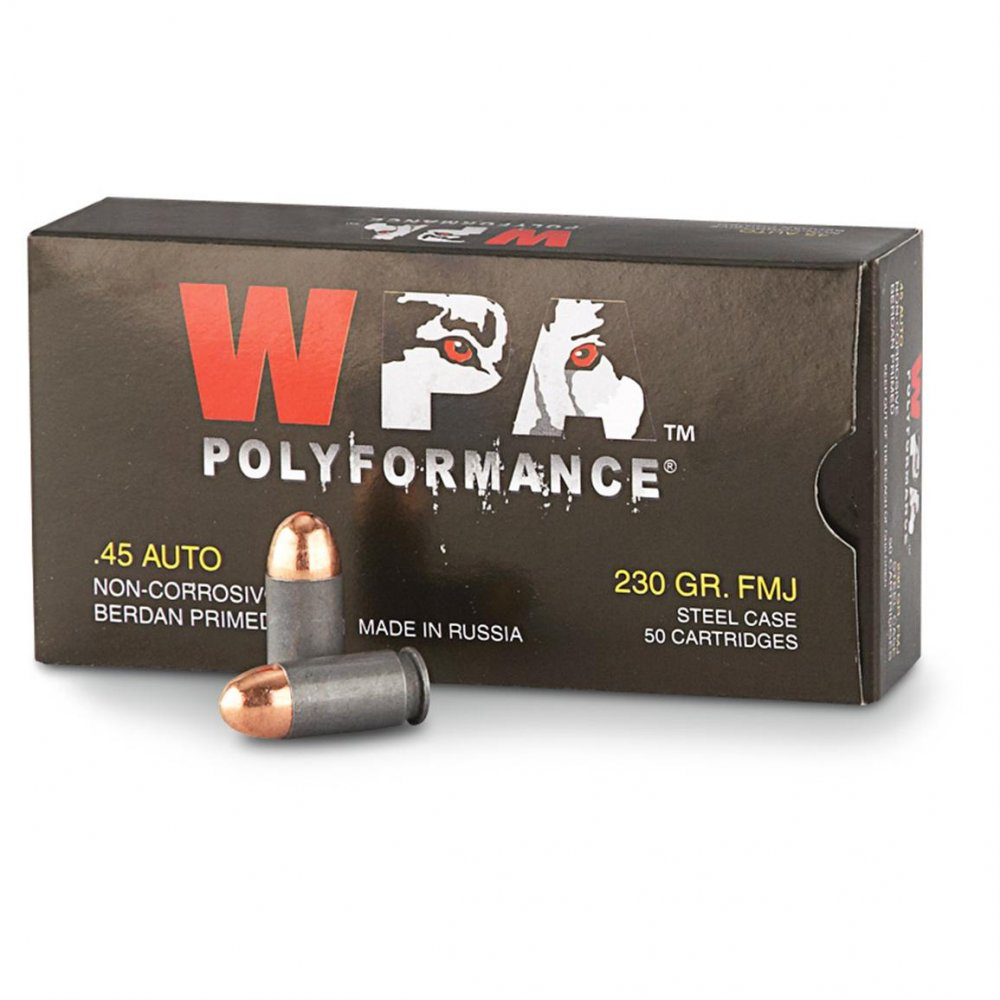 WPA .45 Auto Ammo - Click Image to Close