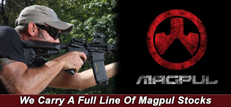 We Carry A Full Line Of Magpul Stocks